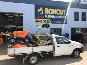 Roncut mobile tool shop